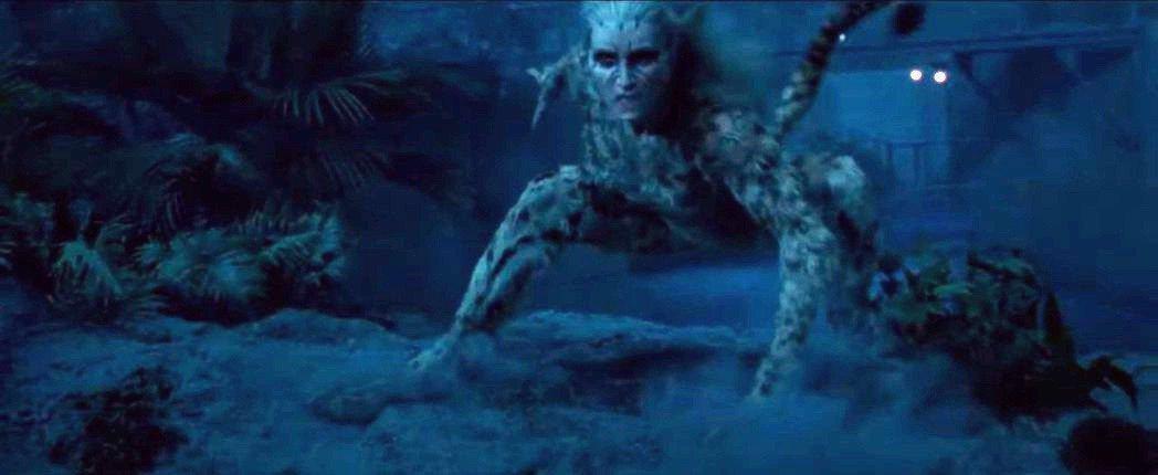 「神力女超人1984」反派「豹女」由克莉絲汀薇格演出。圖/摘自Youtube