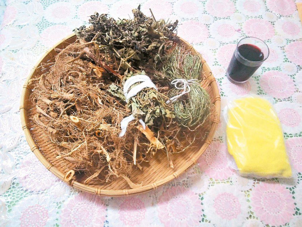 對付陰暑,我的法寶是喝青草茶。圖/梁純绣提供