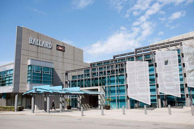 巴拉德公司位於卑詩省廠房。(彭博資訊)
