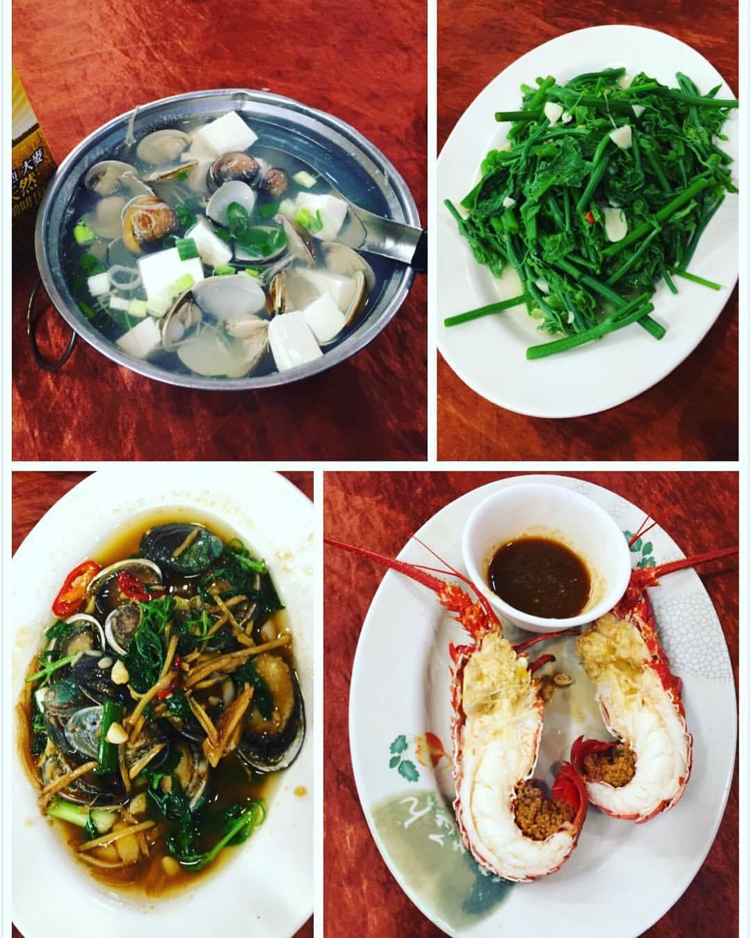 到了花蓮海邊一定要吃海鮮料理,台11線上有「055龍蝦海鮮」主打新鮮活龍蝦,不但...
