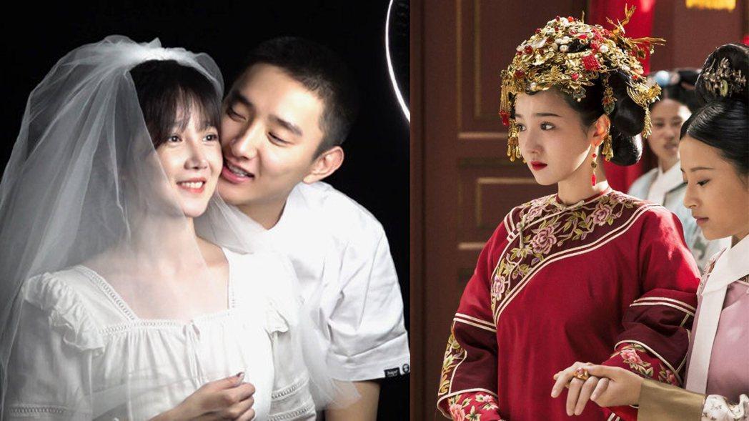 陳小紜與于小彤宣佈分手。圖/擷自新浪娛樂微博