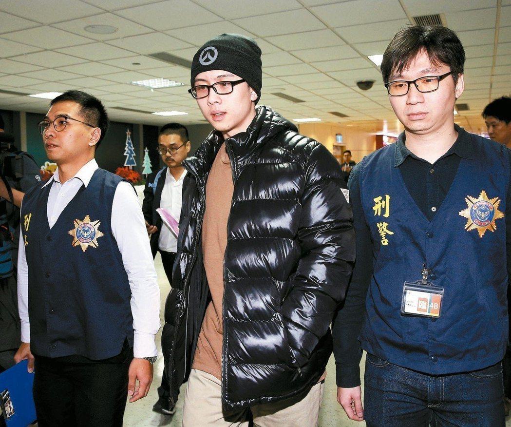 孫安佐2018年時經認罪協商後遣返台灣。 圖/聯合報資料照
