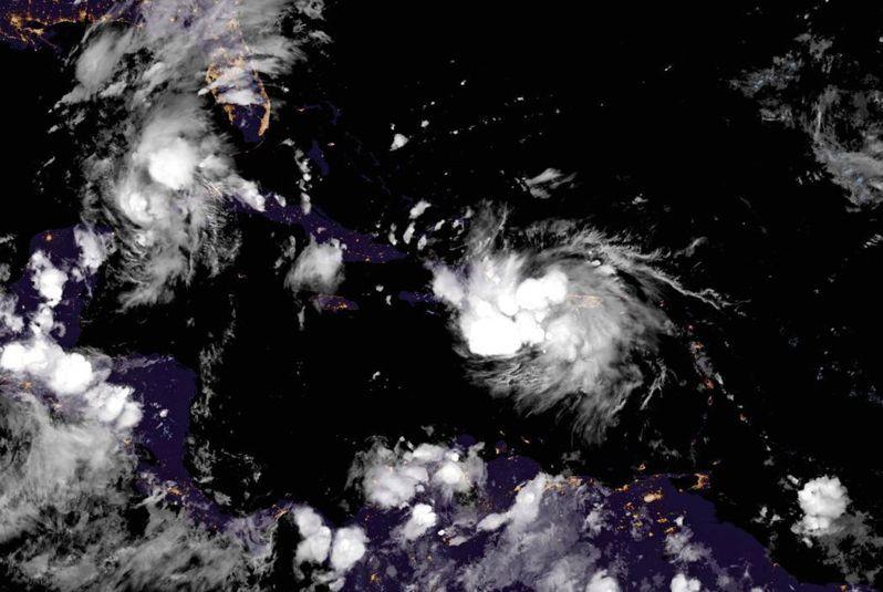 熱帶風暴「馬可(Marco)」跟「勞拉(Laura)」將於周一靠近美國墨西哥灣區,將成為60年以來首次有雙颶風襲擊美國。歐新社