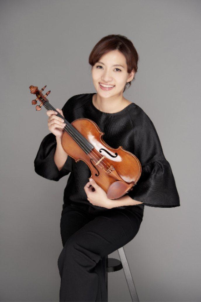 小提琴家李宜錦將舉行獨奏會,帶來德國作曲家布拉姆斯的樂作。李宜錦說,布拉姆斯是她最喜歡的作曲家之一,希望能與樂迷分享布拉姆斯在音樂中深藏的愛情密碼。(李宜錦提供)中央社
