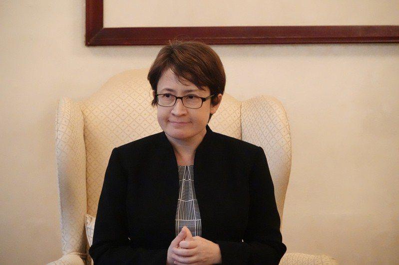 駐美代表蕭美琴。圖/聯合報系資料照片(華盛頓記者張文馨攝影)