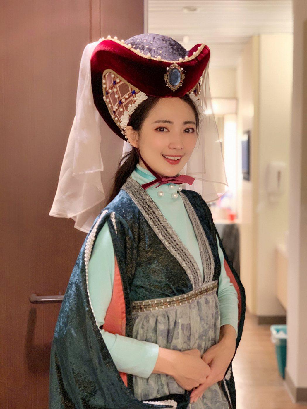 阿喜演出舞台劇「莎姆雷特」。圖/天晴娛樂提供