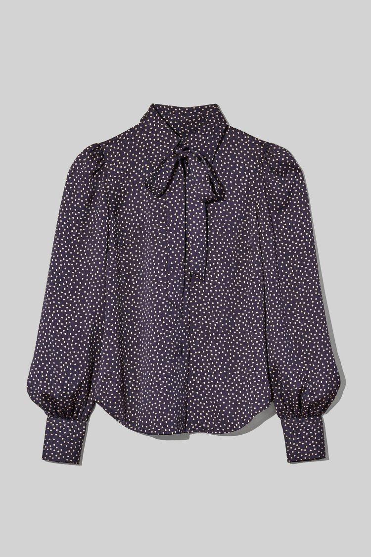 緞面蝴蝶結襯衫,13,900元。圖/Marc Jacobs提供