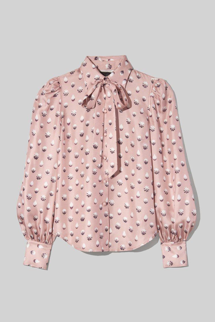 緞面蝴蝶結襯衫,18,900元。圖/Marc Jacobs提供