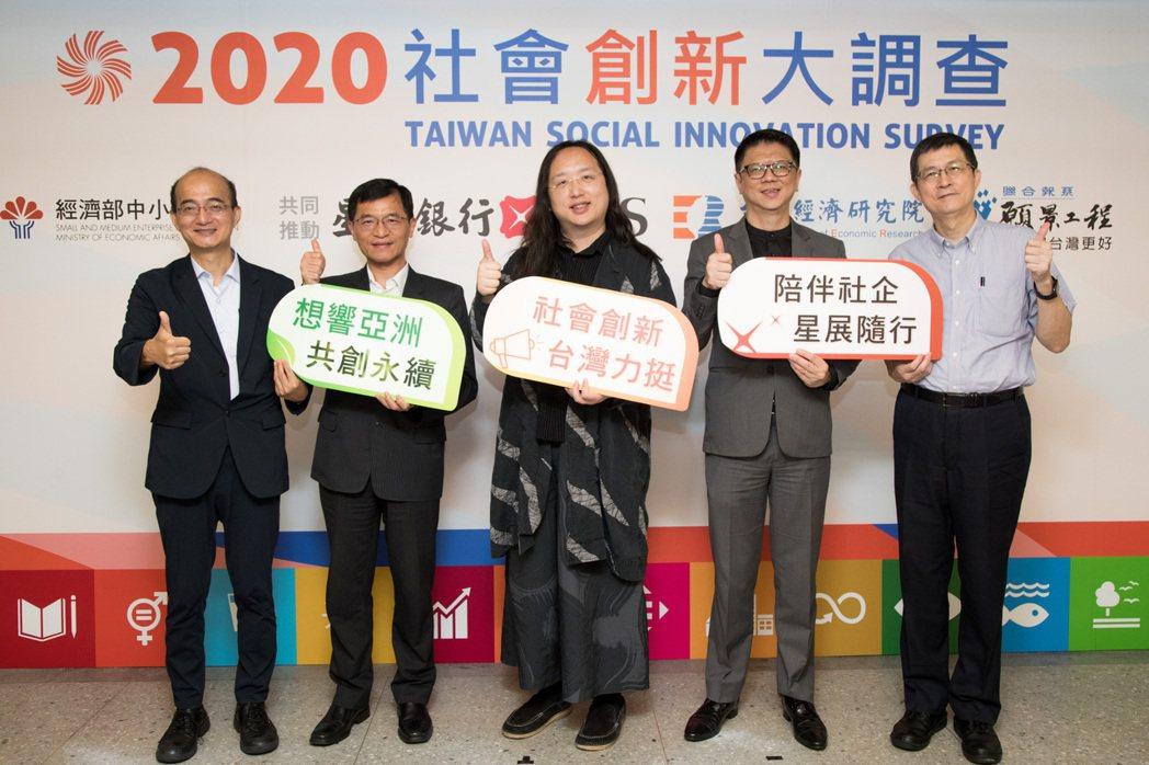 社會創新大調查今公布民調結果,每三名台灣人便有一人聽過何謂「社會企業」,更有高達...
