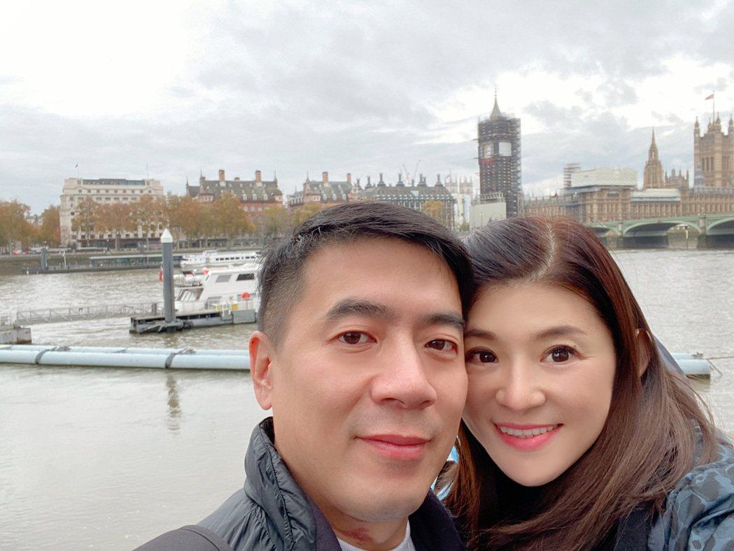 蘇宗怡和老公鶼鰈情深。圖/TVBS提供