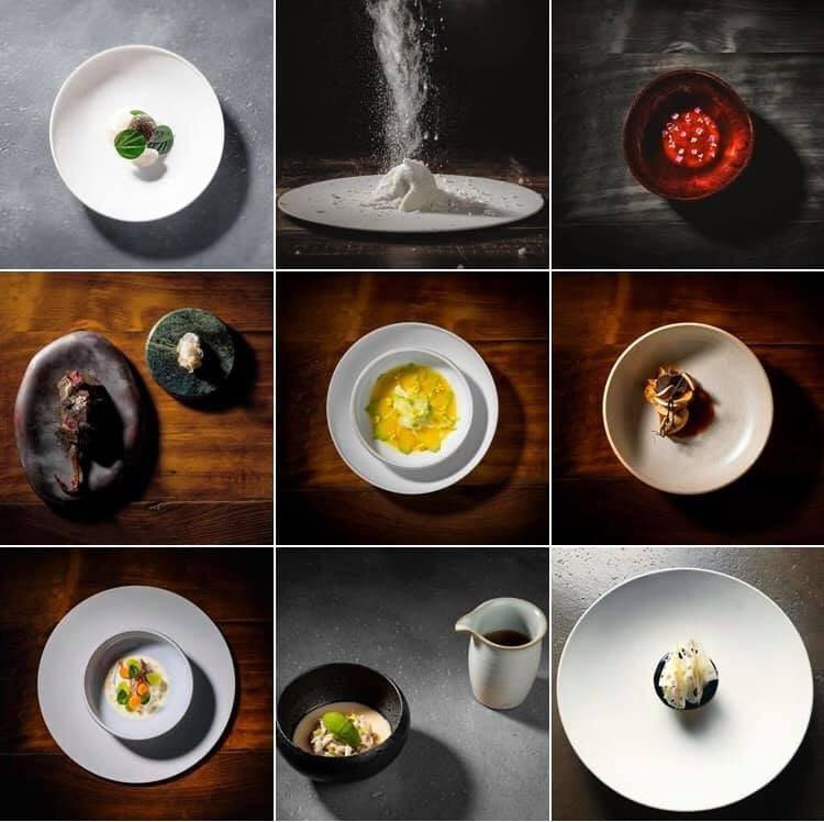 大量運用台灣食材的logy,米其林評審員的評語指出,「日籍主廚強調使用在地食材和亞洲元素,以日本料理手法呈現亞洲菜的多元風貌。」圖 / 翻攝自logy臉書專頁。