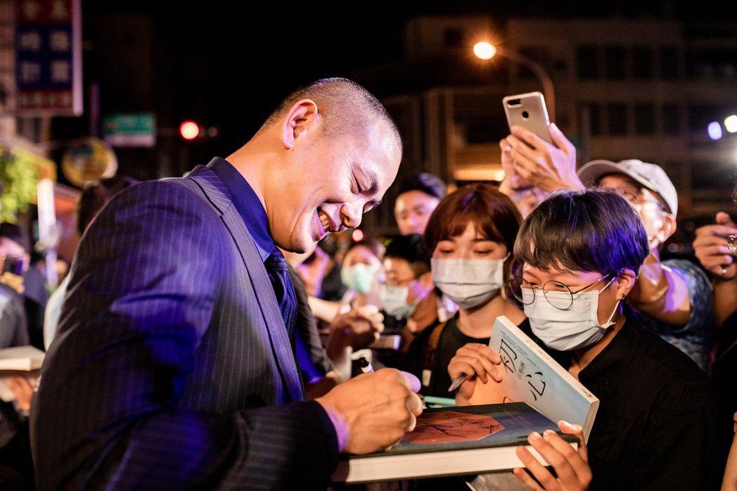 江振誠紀錄片在台南舉辦首映會。圖/牽猴子整合行銷提供