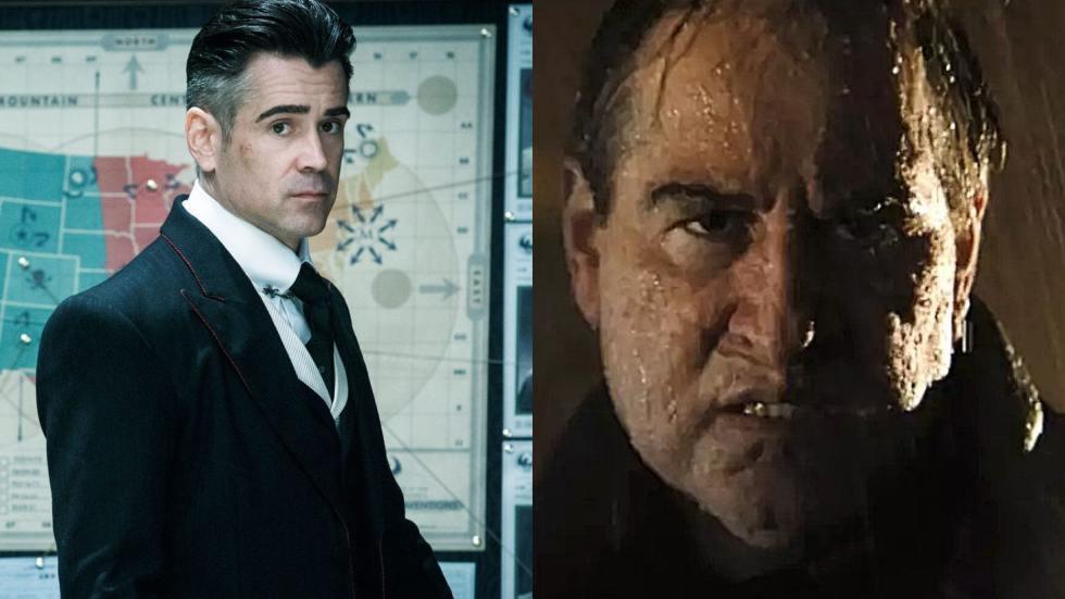 柯林法洛在「蝙蝠俠」飾演反派「企鵝」,扮相疑似曝光。圖/摘自推特
