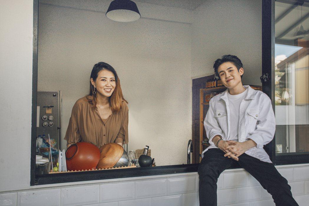 陳卓義(右)攜美聲女歌手鄭可為推出2020最強華語情歌「你還不知道?」。圖/Cr