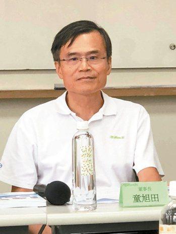 華擎董事長童旭田(本報系資料庫)