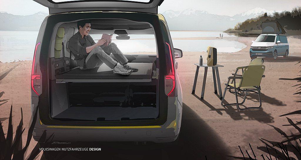 隨著全新大改款第五代Caddy車系登場後,過往肩負戶外活動用途的Caddy Be...