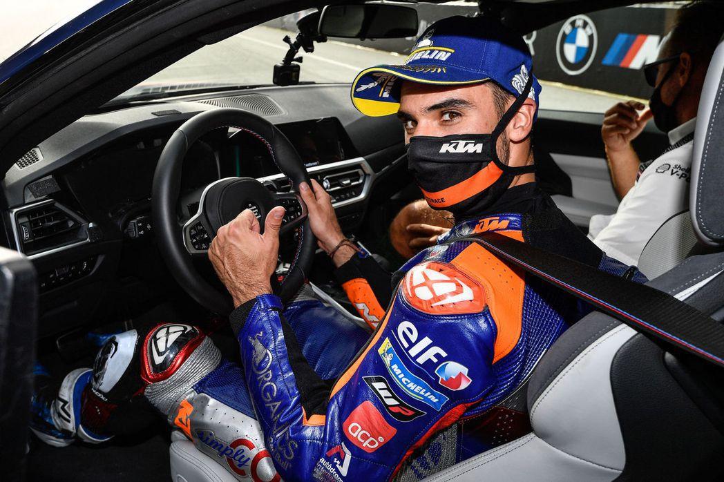 Miguel Oliveira對於這台M4相當滿意。 摘自BMW