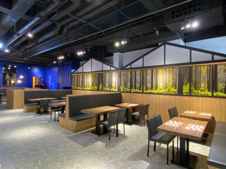 中和新開店,用餐環境也大堤稱。 圖/我家牛排官網