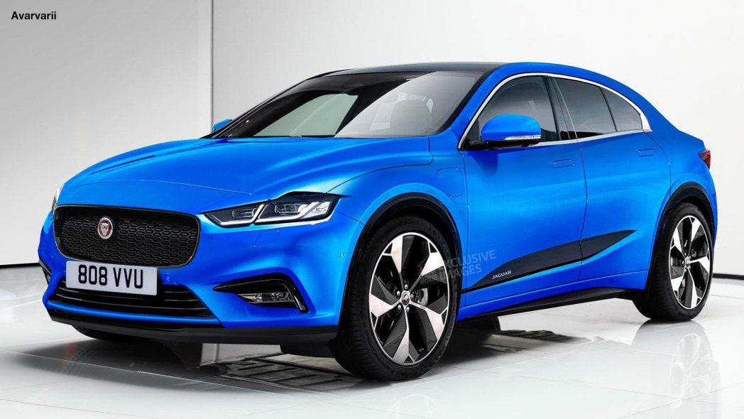 Jaguar新純電動車的預想圖。 摘自Auto Express