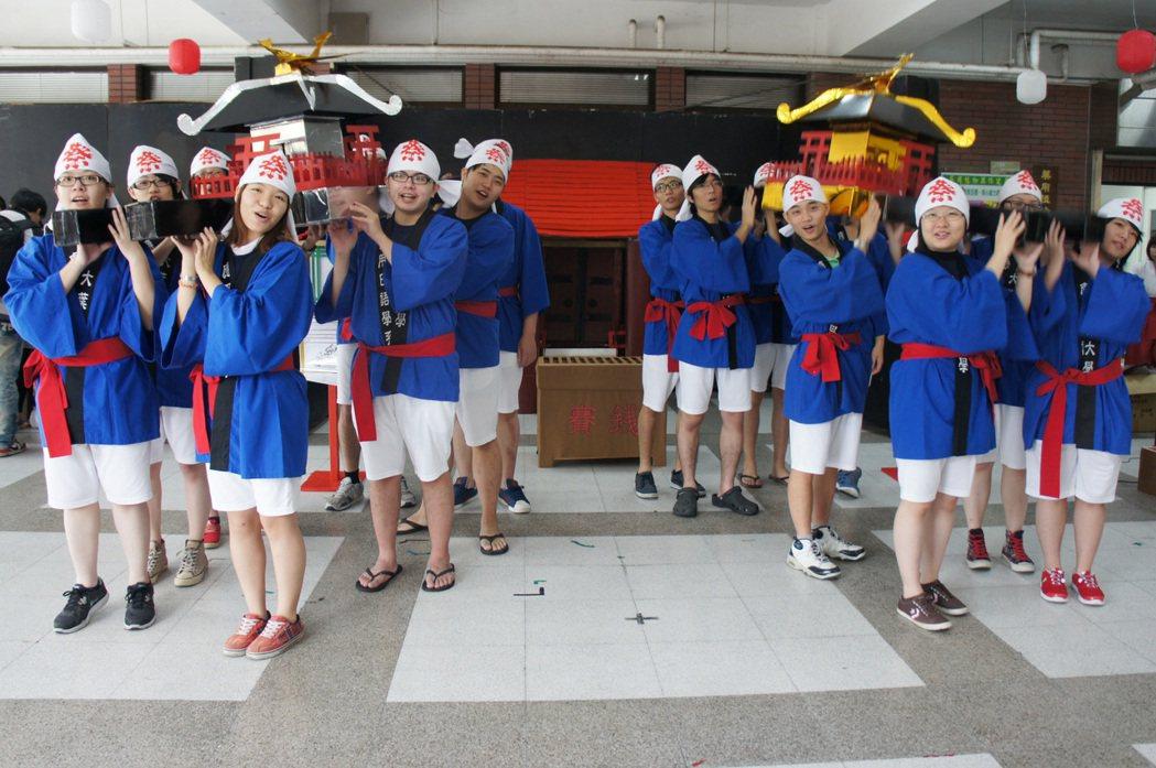 大葉大學應日系歡迎想學日語的社會人士一起來學習。 校方/提供。