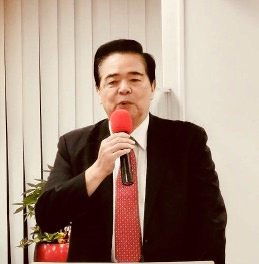 精聯保險經紀公司朱曉龍總經理勉勵同仁衝刺業績。