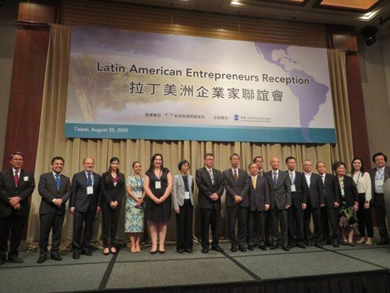 拉丁美洲企業家聯誼會與談貴賓,左起:巴西商務辦事處副處長Mr. Marcos D...