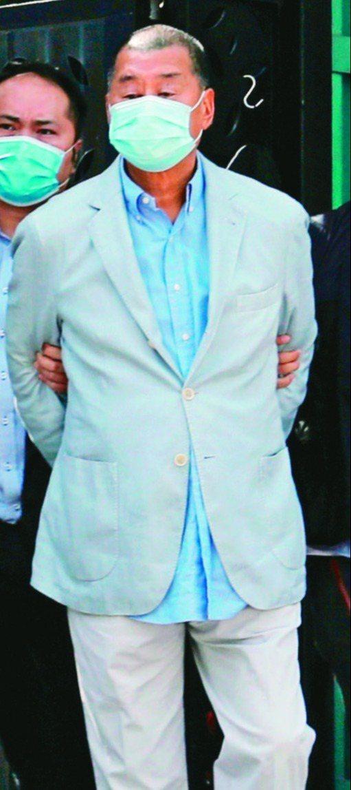 黎智英涉嫌恐嚇記者案,裁判官裁定表面證據成立。路透