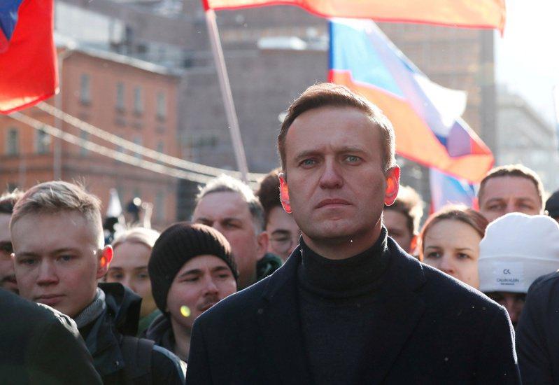 俄羅斯反對派領導人納瓦尼。 路透社