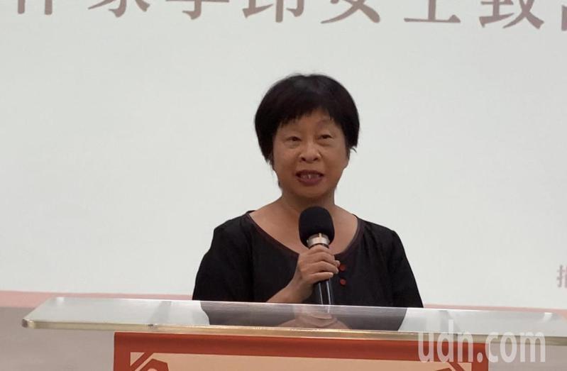 作家李昂。記者修瑞瑩/攝影