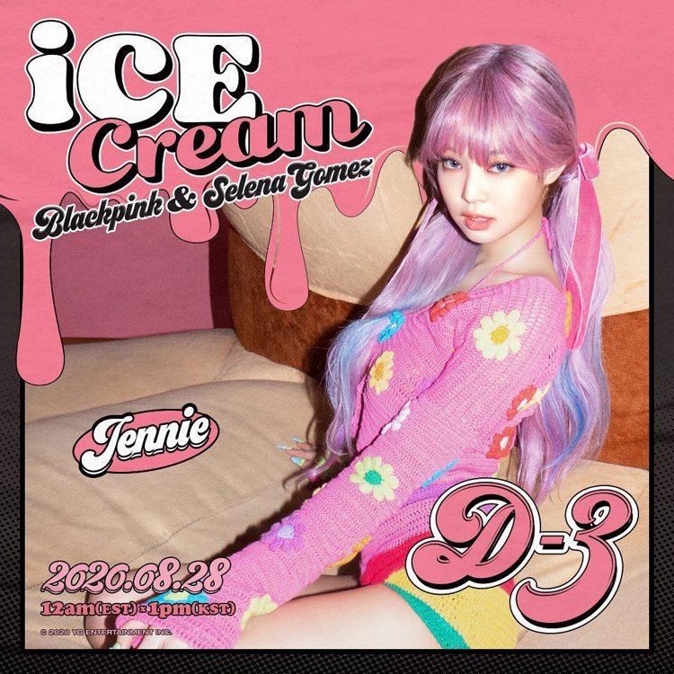Jennie最新宣傳照穿的針織衣已經售罄。圖/摘自IG