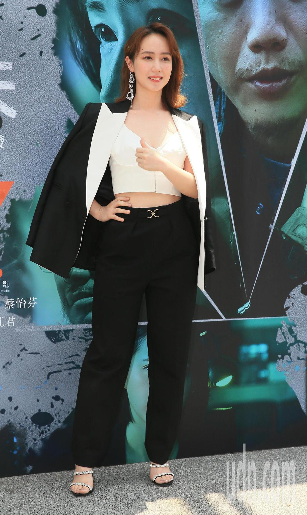 「追兇500天」首映會今天舉行,主要演員小薰出席。記者潘俊宏/攝影