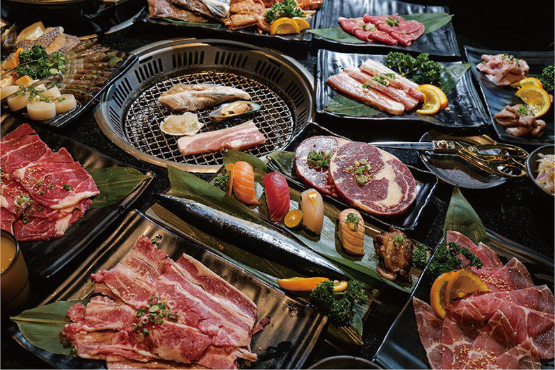 ATT 4 FUN引進吃到飽日式燒肉店「神保町」。圖/ATT 4 FUN提供