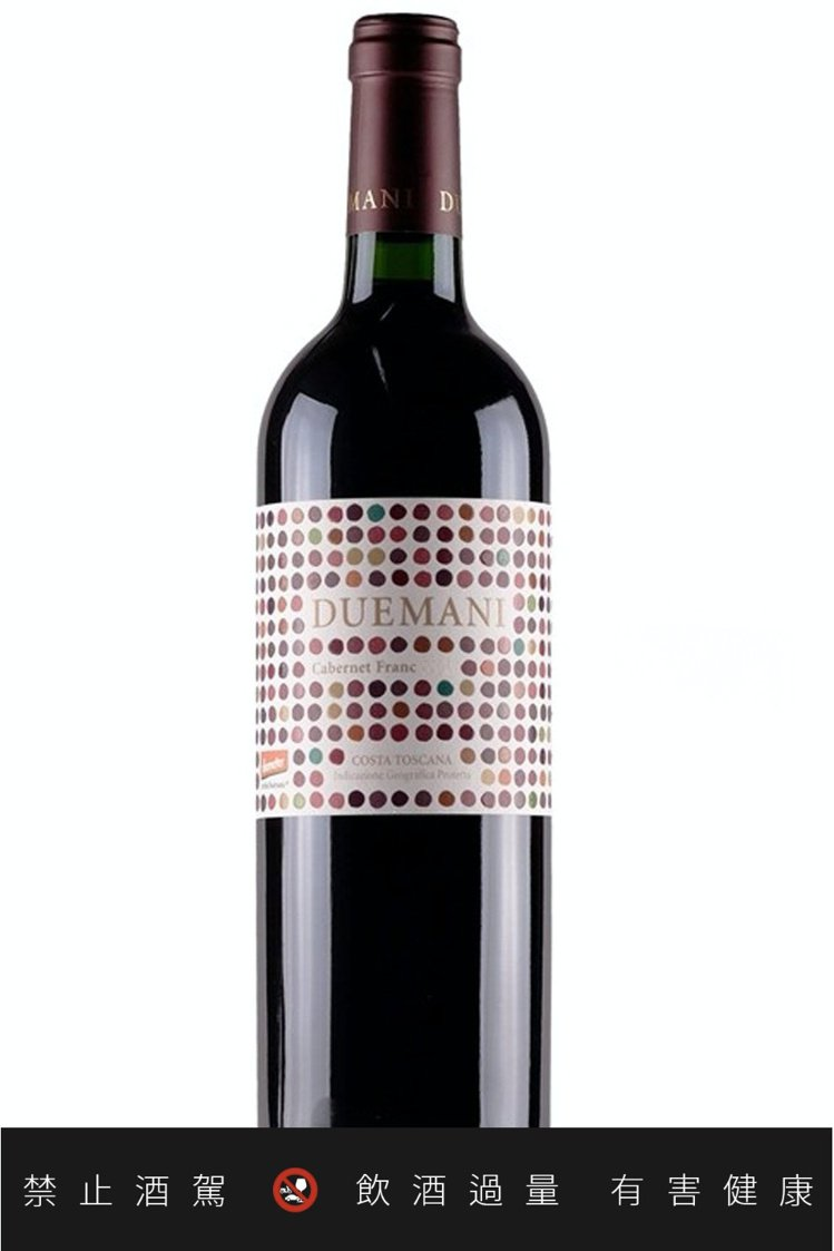 DueMani酒莊是托斯卡納王牌釀酒師Luca d 'Attoma所創。圖/Du...