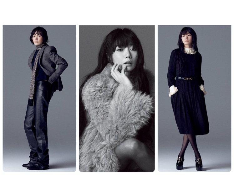 裴斗娜身穿CELINE 2020秋冬男女裝系列登上韓國雜誌。圖/取自IG