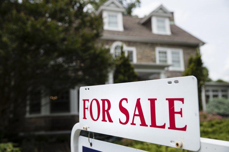 美國房市交易熱絡,成為經濟的一大亮點。(美聯社)