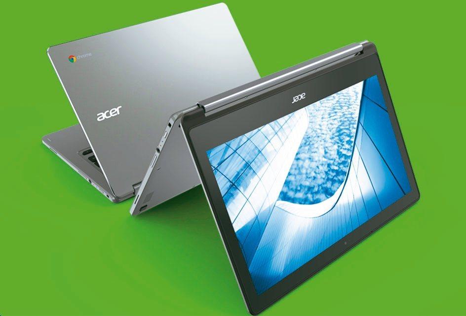 Chromebook太旺!外資紛看好,麥格理大調雙A目標價。圖為宏碁Chrome...