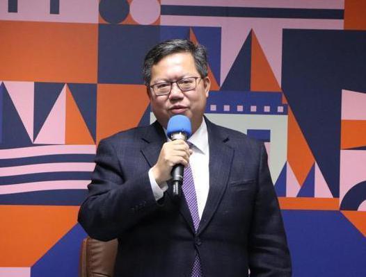 桃園市長鄭文燦。 記者陳夢茹/攝影