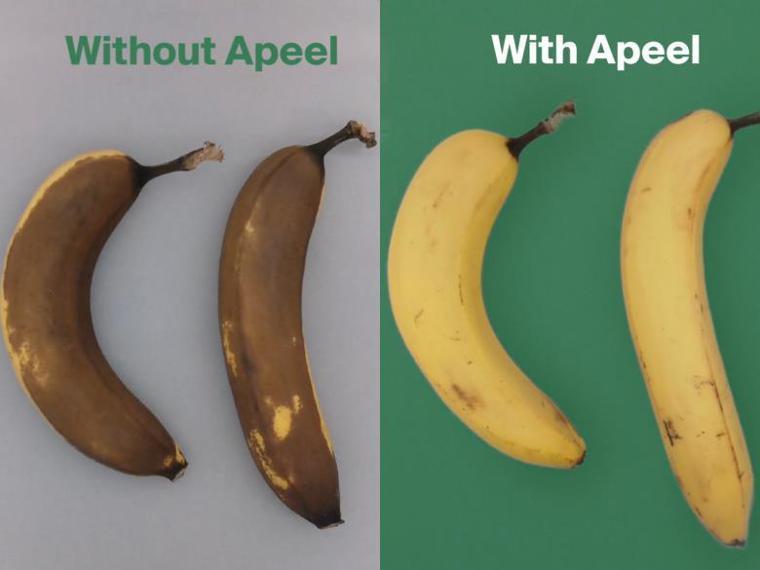 透過使用Apeel生物塗層技術,可以有效改善食品腐敗情況。 圖片提供/食力