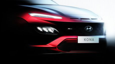 小改款Hyundai Kona預告十月首發 而且還有全新Kona N Line!