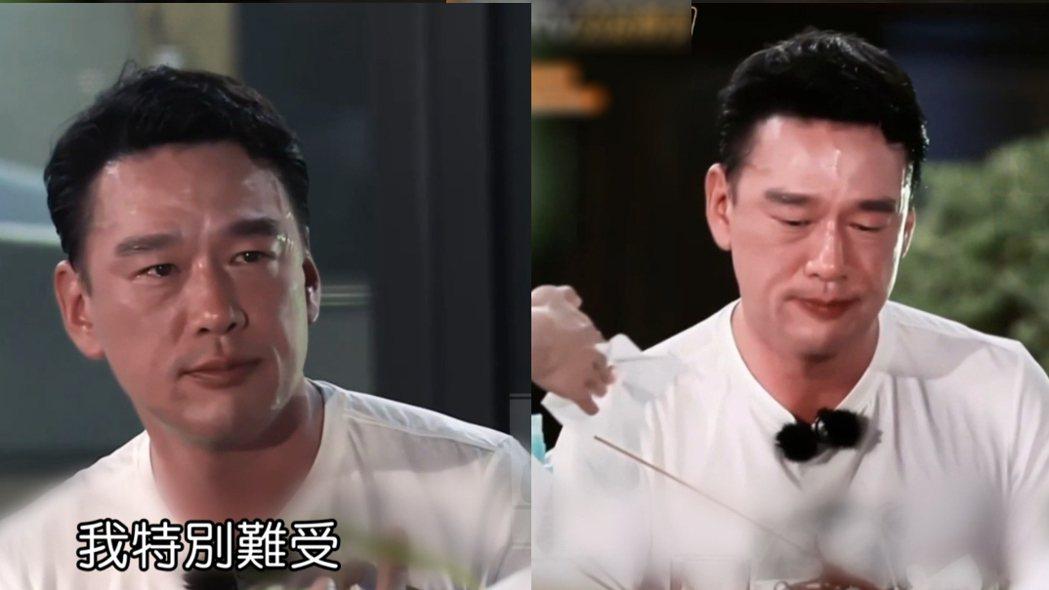 王耀慶透露赴陸打拼時的辛酸。圖/擷自芒果tv