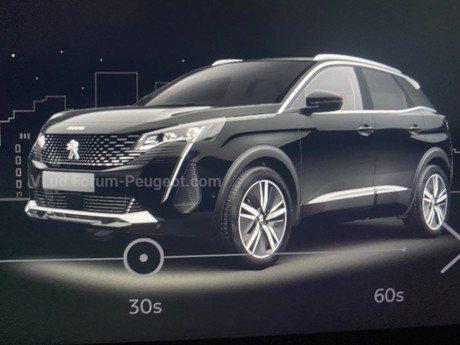 突如其來的襲擊!Peugeot 3008小改款將於9月1日線上發表