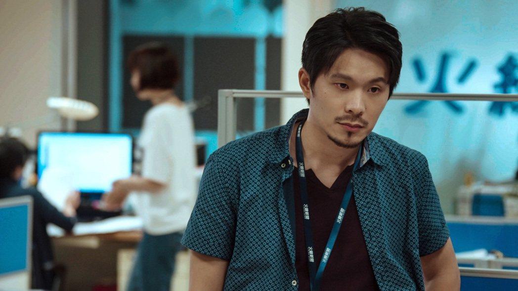 姚淳耀演出「鏡子森林」入圍最佳男主角獎。圖/民視提供