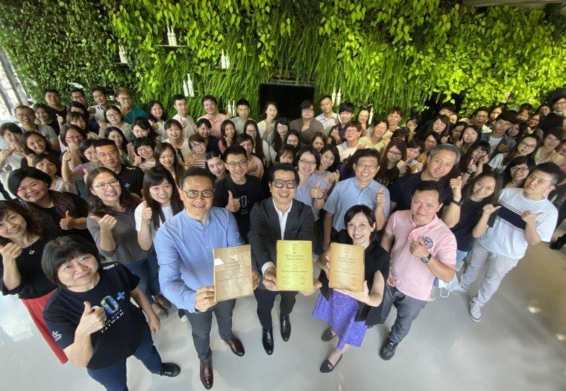 歐萊德今年拿下「亞洲永續報告獎(ASRA)」三大獎,同時在天下CSR獎的環境永續...