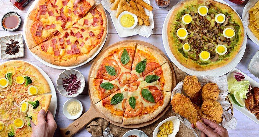 新開幕的Always Pizza店內提供披薩、炸雞吃到飽服務。業者/提供