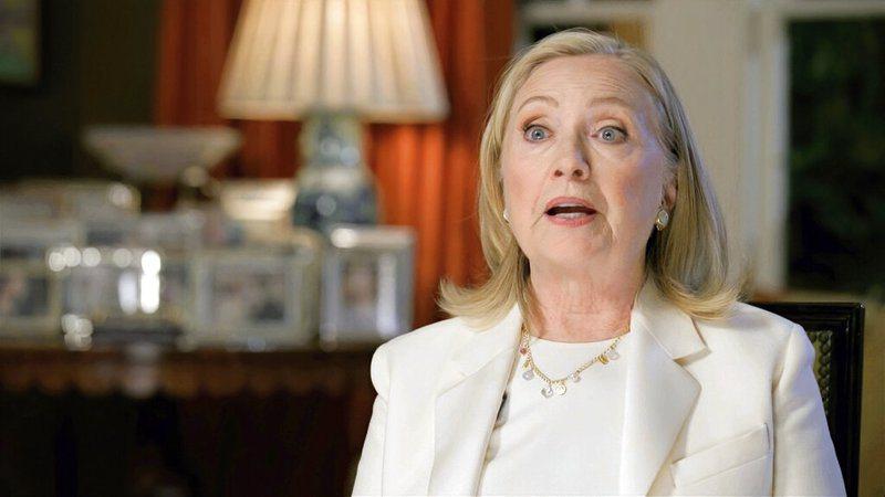 希拉蕊.柯林頓今天說,這次代表民主黨出征的拜登千萬不能提前認輸,應等到所有選票都開出,確定局勢。 美聯社