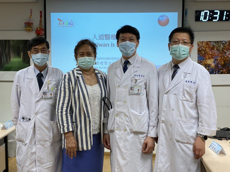 新光醫院表示,經協調下,今年4到8月共五個包機、25名急重症患者得以來台治療並平...