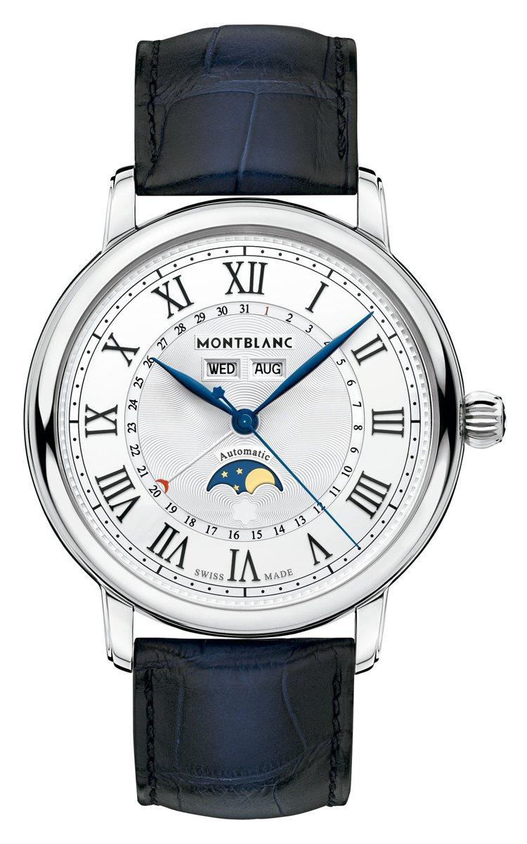 Montblanc,明星傳承系列全日曆腕表(119955),14萬48,500元...