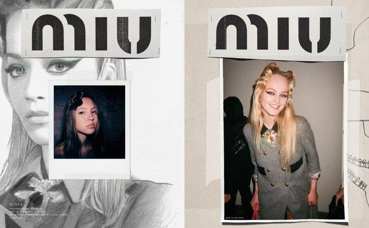 MIUMIU秋冬系列形象廣告,每位攝影師皆聚焦自我與被拍攝者之間獨特而密切的關係...
