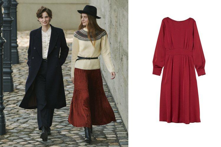 UNIQLO和名模設計師Ines de la Fressange合作款,以及H&...