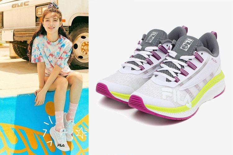 FILA發表時尚跑鞋Wavelet Alpha,邀請有著「國民妹妹」封號的金裕貞...